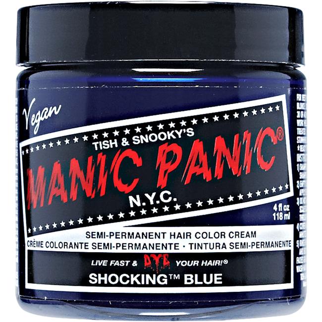 Fabulous Shocking Blue - Manic Panic Semi-Permanent Hair Color | Sally Beauty #DR48
