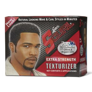 S Curl Extra Strength Texturizer Kit