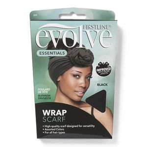 Wrap Scarf Black