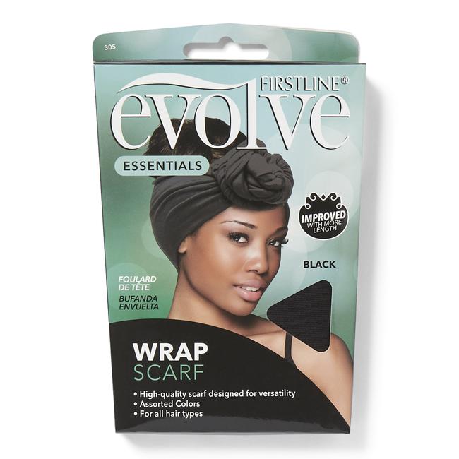 Wrap Scarf Black