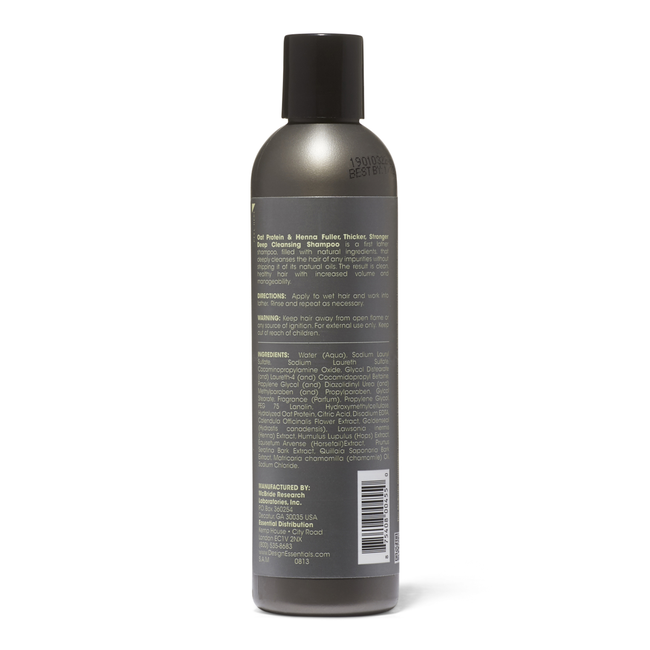 Oat Protein & Henna Fuller Thicker Stronger Deep Cleansing Shampoo