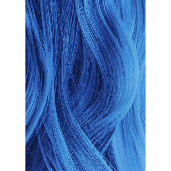 60 Light Blue Premium Natural Semi Permanent Hair Color