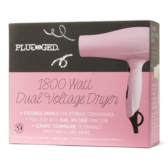 Dual Voltage Ceramic Hair Dryer