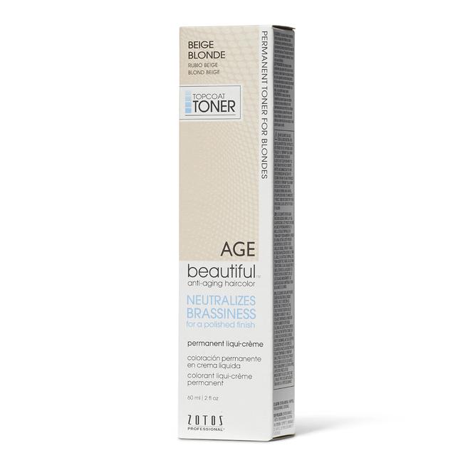Beige Blonde Permanent Liqui-Creme Topcoat Toner