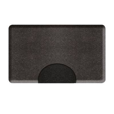 3 X 5 Granite Steel Rectangle Mat with Chair Depression