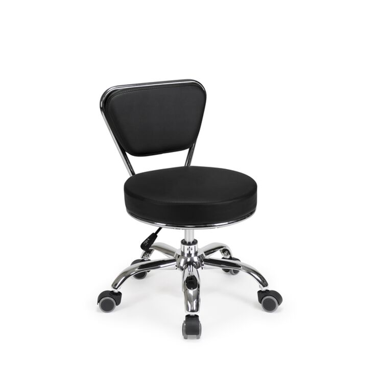 Dayton Pedicure Stool Black