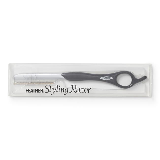 Feather Styling Razor Black