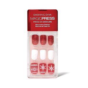 Merry & Bright Press On Nail Kit