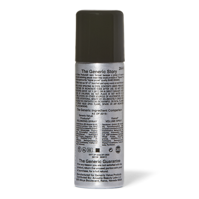Volumizing Spray Compare to Kenra Volume Spray Travel Size