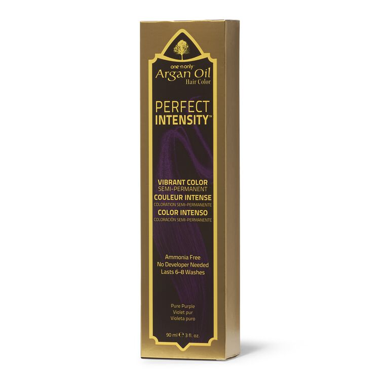 Argan Oil Pure Purple Semi Permanent Hair Color