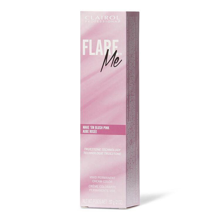FLARE ME Light Permanent Hair Color Make 'Em Blush Pink