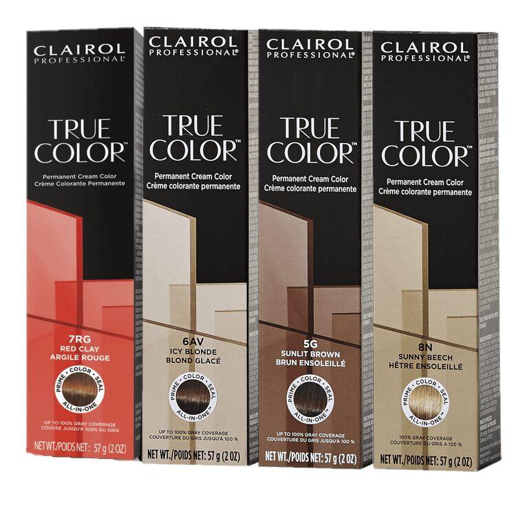 True Color Permanent Cream Color