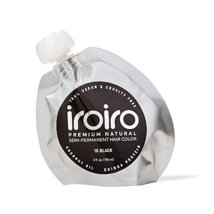 10 Black Premium Natural Semi Permanent Hair Color