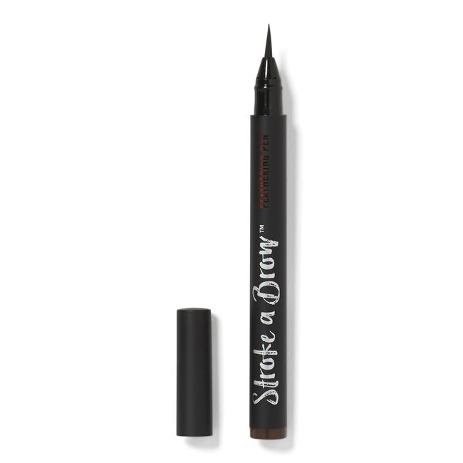 Dark Brown Brow Feathering Pen