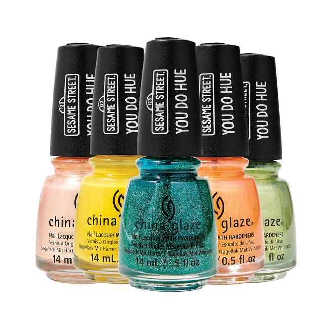 China Glaze Sesame Street | You Due Hue | nail polish | Sally Beauty