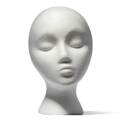 Styrofoam Head With Face