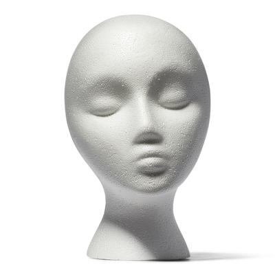 Styrofoam Head With Face