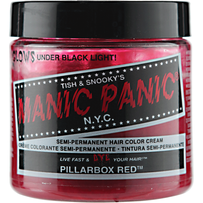 Pillarbox Red Manic Panic Semi Permanent Hair Color Sally Beauty