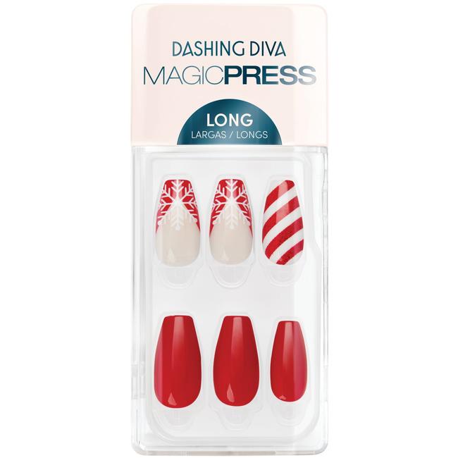 Peppermint Mocha Press On Nail Kit
