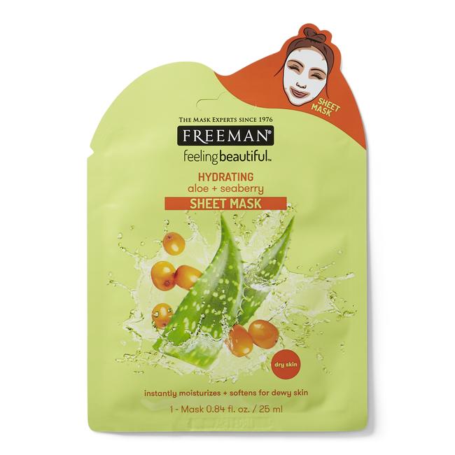 Hydrating Aloe & Seaberry Sheet Mask