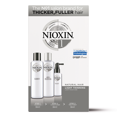 System 1 Kit for Thicker Fuller Natural Hair
