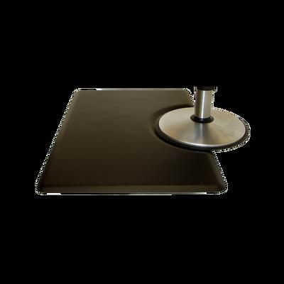 3x4.5 Tranquility Black Mat - Rectangle