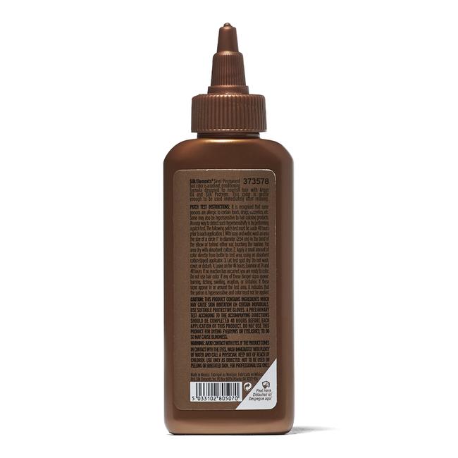 Semi-Permanent Hair Color Rich Dark Brown