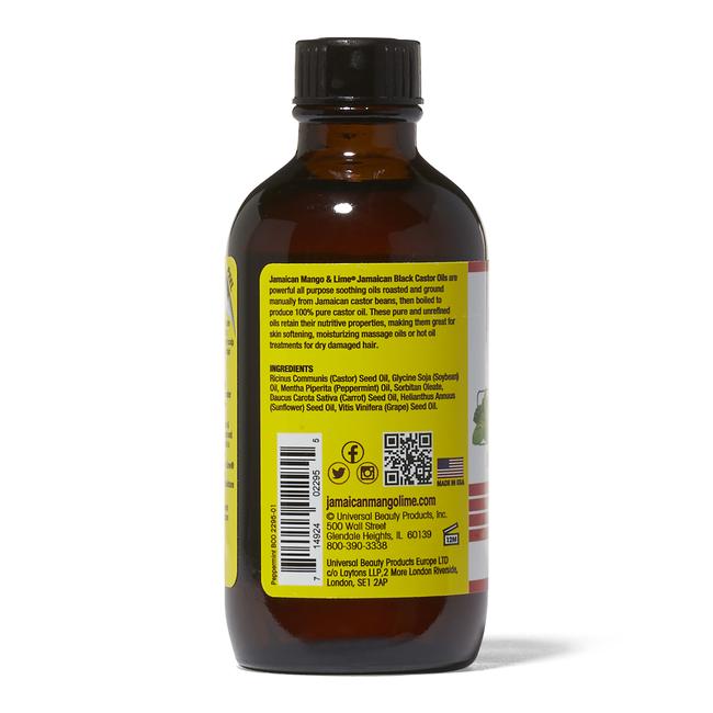 Peppermint Black Castor Oil