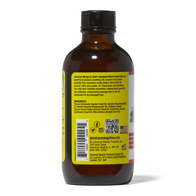 Peppermint Black Castor Oil