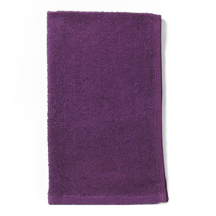 Bleach Guard Purple Cotton Towels