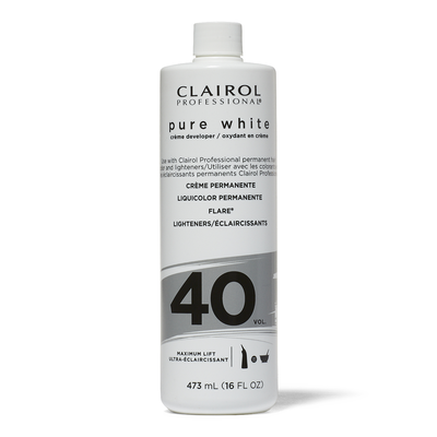 40 Volume Pure White Creme Developer