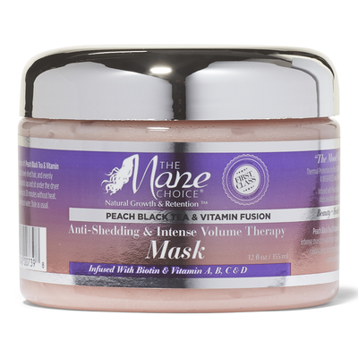Peach Black Tea Anti-Shedding & Intense Volume Therapy Mask