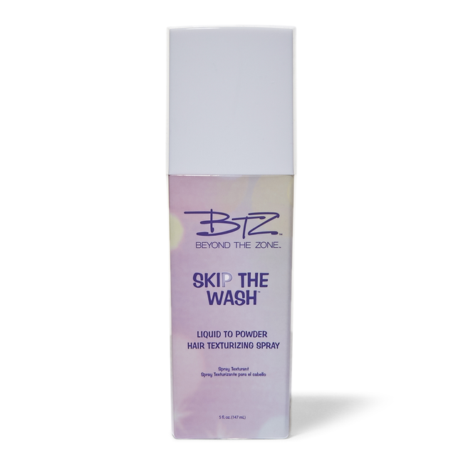 Liquid to Powder Hair Texturizing Spray