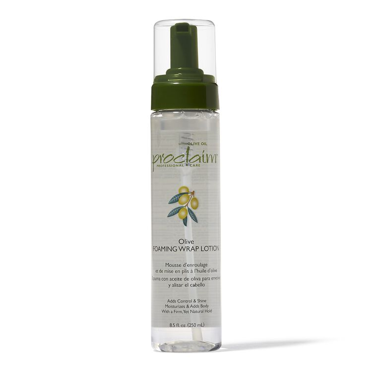 Olive Oil Foaming Wrap Lotion