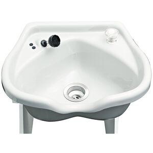 Cameo Procelain Gray Shampoo Bowl