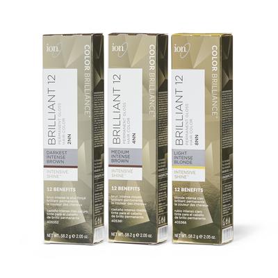 Brilliant 12 Intense Neutrals Permanent Crème Hair Color