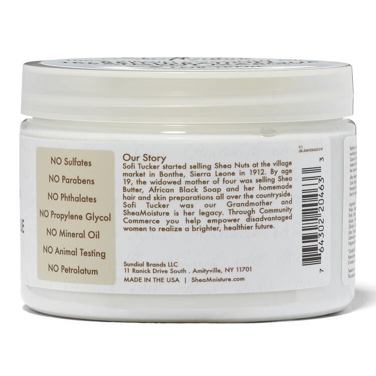 100% Virgin Coconut Oil Rehydration Treatment Masque