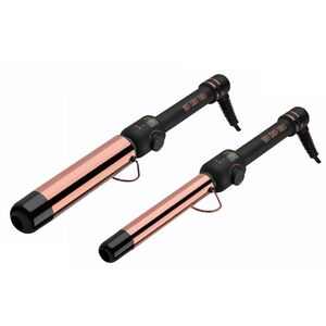 Rose Gold Clipless Curling Wand