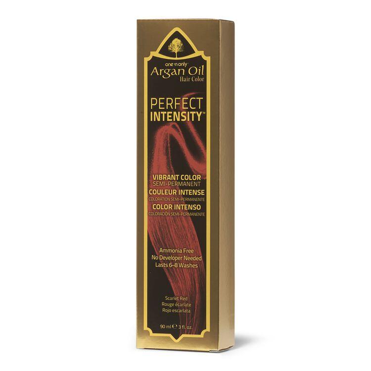 Argan Oil Scarlet Red Semi Permanent Hair Color