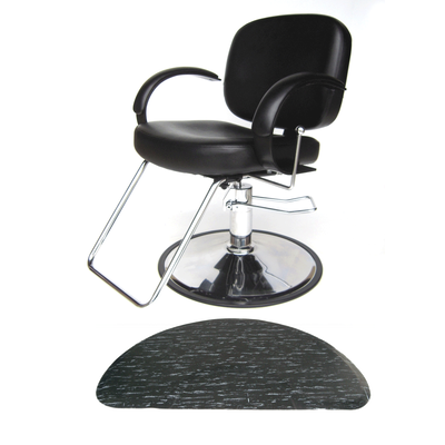 Layla All-Purpose Chair with Marbleized Half Circle Mat