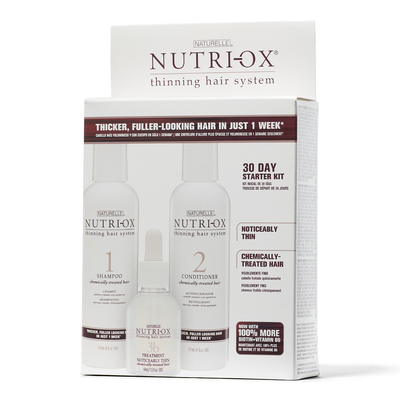 Noticably Thin Color Treated Hair Starter Kit