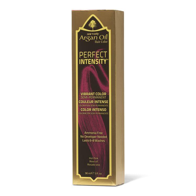 Argan Oil Hot Pink Semi Permanent Hair Color