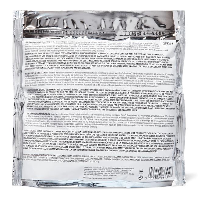 Blue Flash Powder Lightener 1 lb