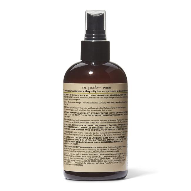 Jamaican Black Castor Oil Curl Refresher Spray