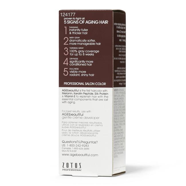 Shades of Intrigue 5V Medium Plum Brown Permanent Liquid Hair Color