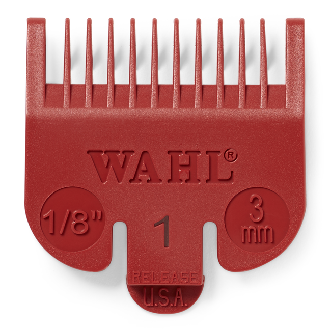 1/8 Inch Color Coded Comb Attachments