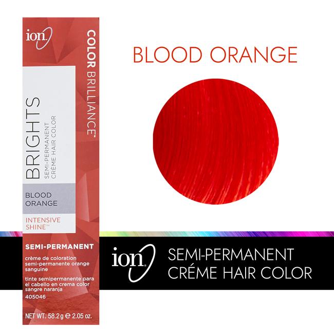 Blood Orange Semi Permanent Hair Color