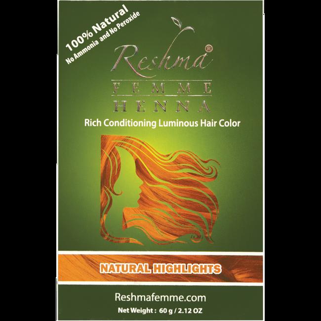 Natural Highlights Semi Permanent Color