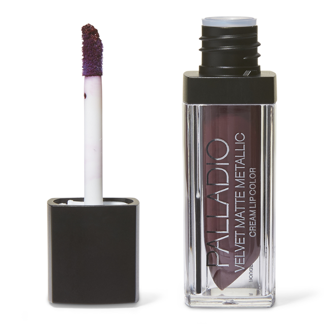Velvet Matte Metallic Cream Lip Color Opulent