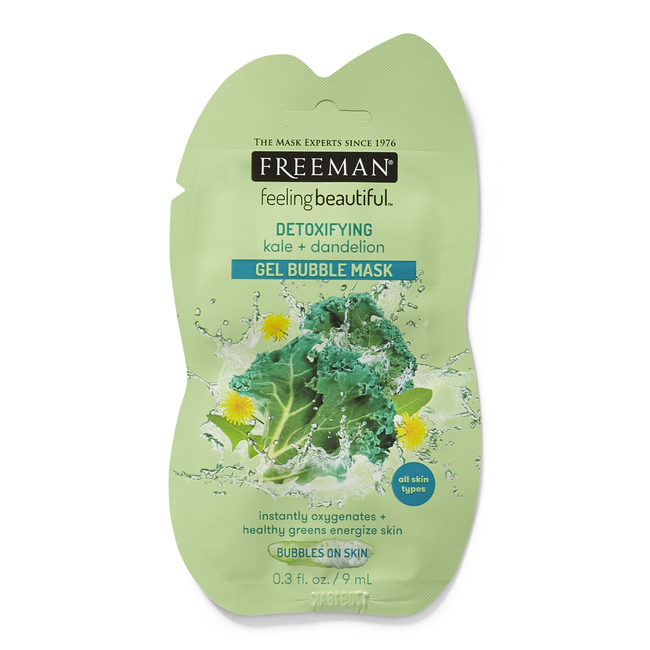 Kale & Dandelion Gel Bubble Mask